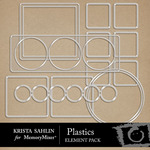 Plastics Embellishment Pack-$2.19 (Krista Sahlin)