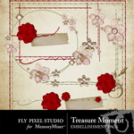 Treasure moment stitch clusters small