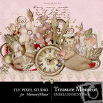 Treasure Moment Embellishment Pack-$2.99 (Fly Pixel Studio)