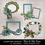 This is My Year Cluster Pack-$1.99 (Jumpstart Designs)