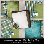 This is My Year Stacked Paper Pack-$2.99 (Jumpstart Designs)
