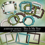This is My Year Frame Pack-$2.49 (Jumpstart Designs)