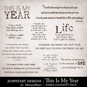 This is my year wordart medium