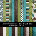 This is My Year Paper Pack-$2.99 (Jumpstart Designs)