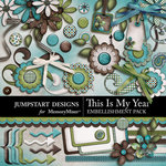 This is My Year Embellishment Pack-$3.49 (Jumpstart Designs)