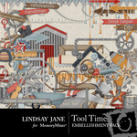 Tool Time Embellishment Pack-$3.49 (Lindsay Jane)