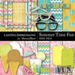 Summer Time Fun Mini Pack-$1.00 (Lasting Impressions)