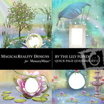 By the Lily Pond Quick Page QuickMix 1-$3.49 (MagicalReality Designs)