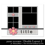 Page Builder Double Layout LANDSCAPE QuickMix 2-$0.99 (Jayme Elggren)
