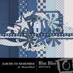 Blue Bliss Mini Pack-$3.99 (Albums to Remember)