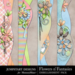Flowers n Fantasies Border Pack-$2.99 (Jumpstart Designs)