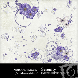 Serenity id accents emb medium