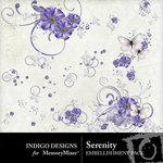 Serenity ID Accents Embellishment Pack-$1.99 (Indigo Designs)