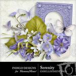 Serenity ID Embellishment Pack-$2.99 (Indigo Designs)