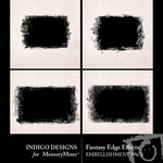 Fantasy Edge Effect Embellishment Pack-$2.49 (Indigo Designs)