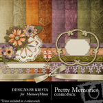 Pretty Memories Combo Pack-$4.49 (Designs by Krista)
