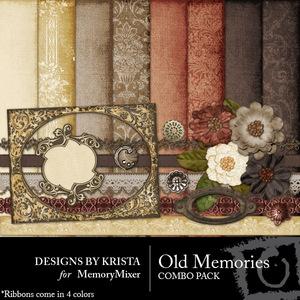 Old memories combo pack medium