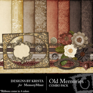 Old memories combo pack medium