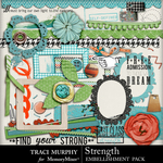 Strength Embellishment Pack-$2.99 (Traci Murphy)