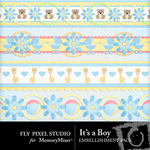 Its a Boy Border Pack-$1.99 (Fly Pixel Studio)