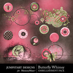 Butterfly Whimsy Flair Pack-$1.99 (Jumpstart Designs)