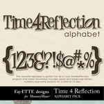 Time 4 Reflection Alphabet Pack-$0.99 (Fayette Designs)