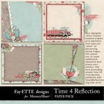 Time 4 Reflection Short Stack Paper Pack-$2.49 (Ettes and Company by Fayette)