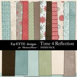 Time 4 Reflection Paper Pack-$3.99 (Ettes and Company by Fayette)