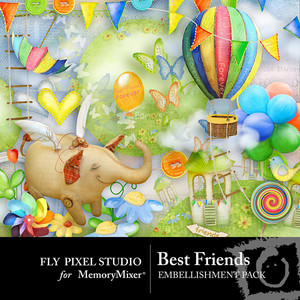 Best friends emb medium
