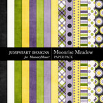 Moonrise Meadow Paper Pack-$3.49 (Jumpstart Designs)