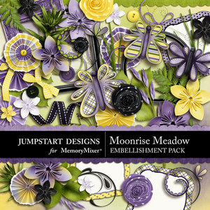 Moonrise meadow emb medium