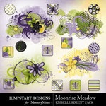 Moonrise Meadow Add On Embellishment Pack-$2.49 (Jumpstart Designs)