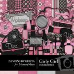 Girly Girl DK Combo Pack-$4.99 (Designs by Krista)