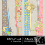 Outdoor Play Border Pack-$1.00 (Lindsay Jane)