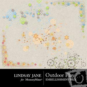 Outdoor play scatterz medium