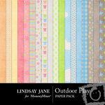 Outdoor Play Paper Pack-$3.99 (Lindsay Jane)