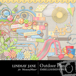 Outdoor Play Embellishment Pack-$3.49 (Lindsay Jane)
