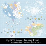 January Frost Spatters Pack-$1.99 (Ettes and Company by Fayette)