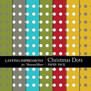 Christmas dots pp medium