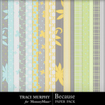 Because Paper Pack-$3.99 (Traci Murphy)