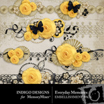 Everyday Memories Border Pack-$1.99 (Indigo Designs)