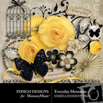 Everyday Memories Embellishment Pack-$2.99 (Indigo Designs)