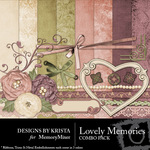 Lovely Memories Combo Pack-$3.99 (Designs by Krista)