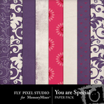 You are Special Paper Pack-$3.49 (Fly Pixel Studio)