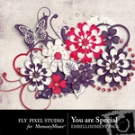 You are Special Embellishment Pack-$2.99 (Fly Pixel Studio)