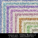 Glitter Border Pack 2 Pastels-$1.99 (Lindsay Jane)