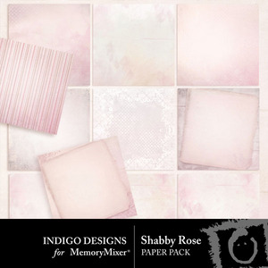 Shabby rose pp medium