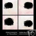 Shabby Rose Edge Effect Pack-$2.49 (Indigo Designs)
