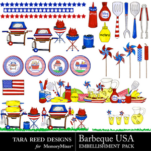 Barbeque usa emb medium