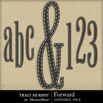 Forward Alphabet Pack-$1.49 (Traci Murphy)
